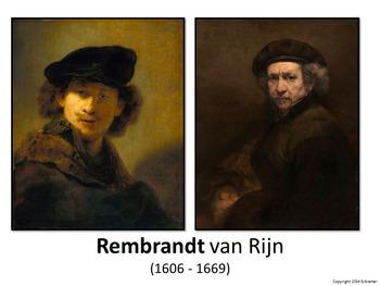Introducing Rembrandt - Art History, Teaching Script, Acti