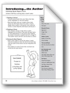 Introducing...the Author (Book Report Form)