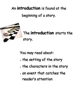 Introduction Anchor Chart