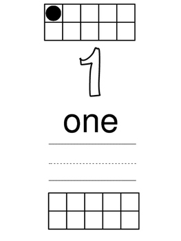 Introduction of Ten Frames 1-20