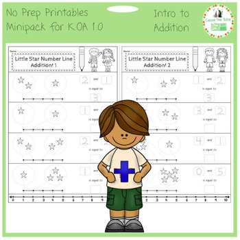 Introduction to Addition -- No Prep Mini-Pack for K.OA 1.0