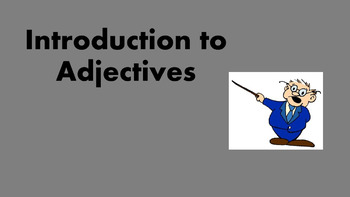 Introduction to Adjectives OfficeMix Video