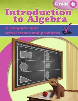 Introduction to Algebra: Grade 6