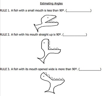 Introduction to Angles: Estimating and Naming Angles