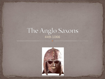Introduction to Anglo Saxon and Beowulf