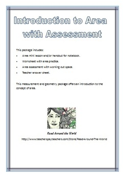 Introduction to Area with Assessment