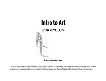 Introduction to Art Curriculum