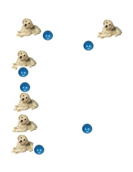 Introduction to Basic Prepositions: Puppy (Images)