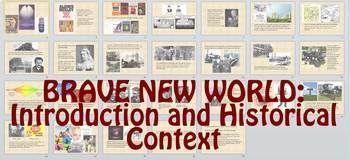 Introduction to Brave New World (Historical Context and An