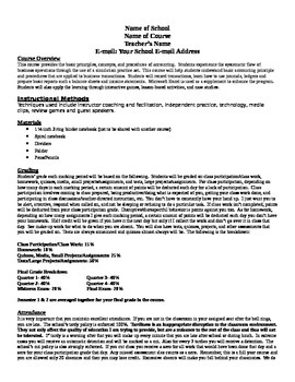 Accounting: Accounting 1- Course Guidelines/Syllabus