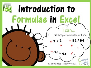 Introduction to Formulae in Excel Lesson Plan