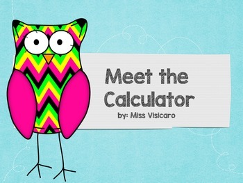 Introduction to Calculators Powerpoint Presentation