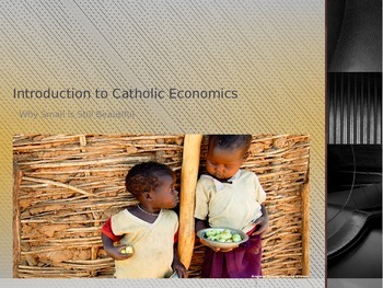 Introduction to Catholic Economics: Catholic Social Justice