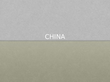 Introduction to China PPt
