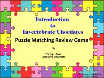 Introduction to Invertebrate Chordates Puzzle Matching Rev