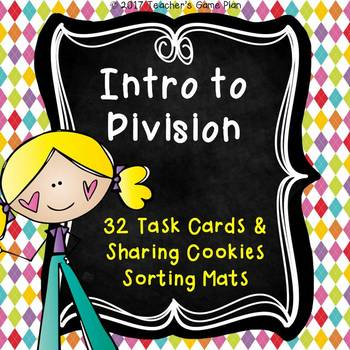 Introduction to Division Task Cards