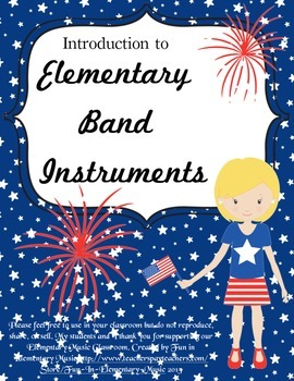 Introduction to Elementary Band Instruments Patriotic Them