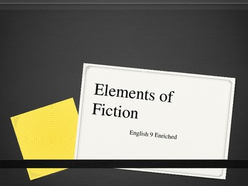 Introduction to Elements of Fiction