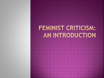Introduction to Feminist Criticism (Presentation)