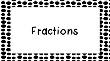 Introduction to Fractions of a Region and Set- PowerPoint