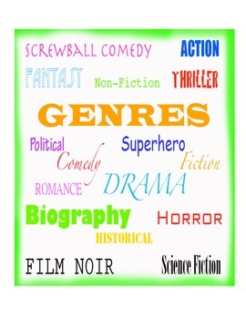 Introduction to Genres for All Grades