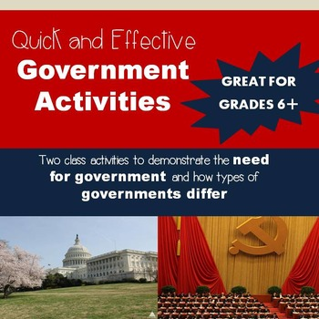 Introduction to Government Activites
