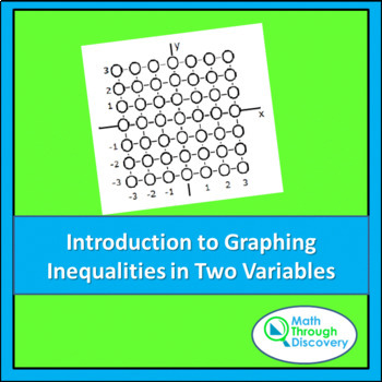 Algebra I:  Introduction to Graphing Inequalities in Two V