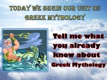 Introduction to Greek Mythology (power point)