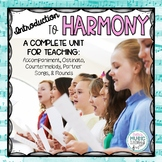 Introduction to Harmony: Ostinato, Partner Song, Round, Co