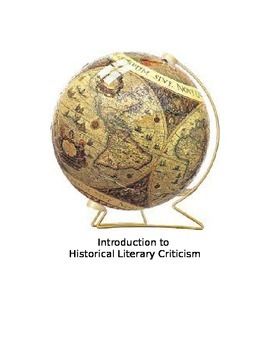 Introduction to Historical Criticism (part 5 of 6)