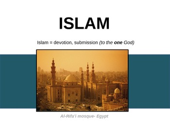 Introduction to Islam - presentation, questions and bell r