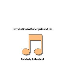 Introduction to Kindergarten Music