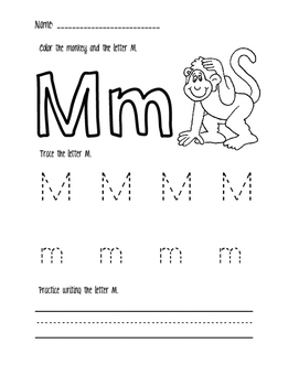 Introduction to Letter M