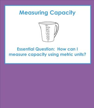 Introduction to Measuring Metric Capacity