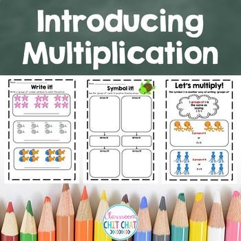 Introducing Multiplication - Early Multiplication Workshee