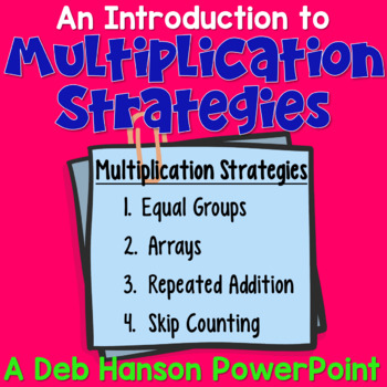 Introduction to Multiplication PowerPoint