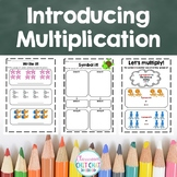 Introducing Multiplication - Early Multiplication Workshee