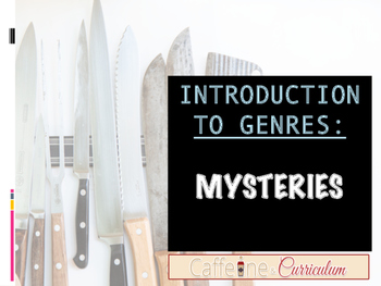 Mysteries (Introduction to Genres) Lesson