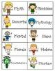 Introduction to Mythology - Vocabulary, Gods/Goddesses, an