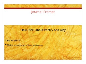 Introduction to Poetry: What is Poetry? (Introduction and
