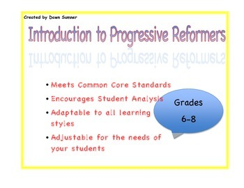 Introduction to Progressive Reformers