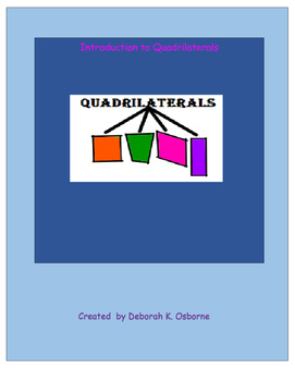 Introduction to Quadrilaterals Lesson