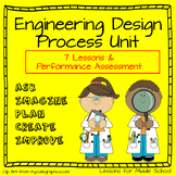 Engineering Design Process and STEM Challenges Unit for Mi