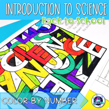 Back to School: Introduction to Science Color-by-Number