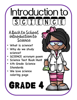 Introduction to Science - Grade 4