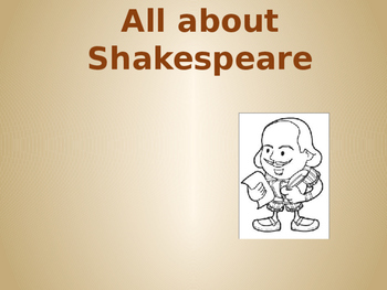 Introduction to Shakespeare for Romeo and Juliet