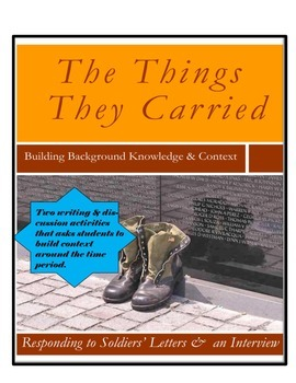Introduction to The Things They Carried: Building Context