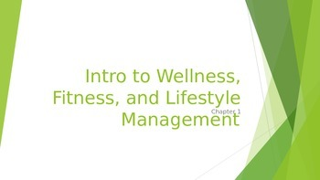 Introduction to Wellness Powerpoint