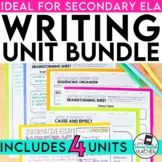 Writing Bundle for Secondary English
