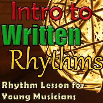 Introduction to Written Rhythms - Christmas Lesson - Eleme